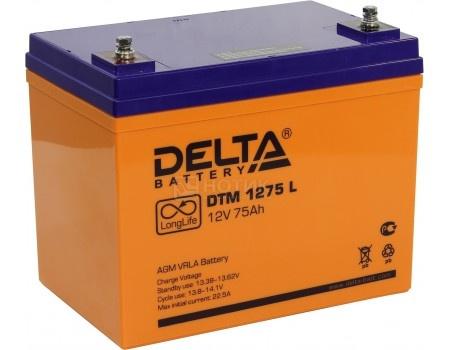 Фотография товара аккумулятор для ИБП Delta DTM 1275 L, 12V / 75Ah (75 000mAh) (54457)