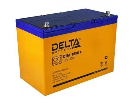 Фотография товара аккумулятор для ИБП Delta DTM 1290 L, 12V / 90Ah (90 000mAh) (54458)