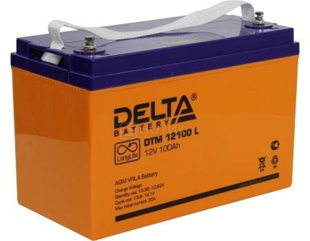 Аккумулятор для ИБП Delta DTM 12100 L, 12V / 100Ah (100 000mAh), арт: 54459 - Delta