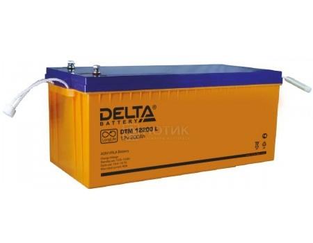 Фотография товара аккумулятор для ИБП Delta DTM 12200 L, 12V / 200Ah (200 000mAh) (54461)