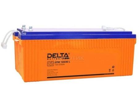 Фотография товара аккумулятор для ИБП Delta DTM 12230 L, 12V / 230Ah (230 000mAh) (54462)