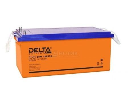 Фотография товара аккумулятор для ИБП Delta DTM 12250 L, 12V / 250Ah (250 000mAh) (54463)