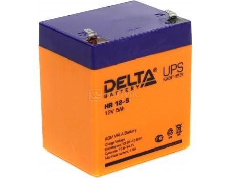 Фотография товара аккумулятор для ИБП Delta HR 12-5, 12V / 5Ah (5 000mAh) (54465)
