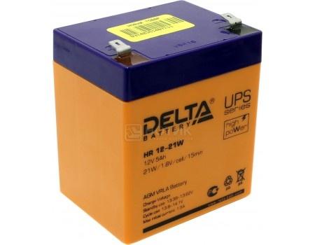 Фотография товара аккумулятор для ИБП Delta HR 12-21W, 12V / 5Ah (5 000mAh) (54466)