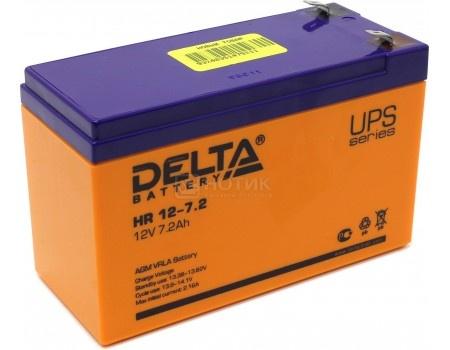 Фотография товара аккумулятор для ИБП Delta HR 12-7.2 12V / 7.2Ah (7 200mAh) (54469)