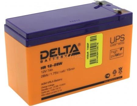 Фотография товара аккумулятор для ИБП Delta HR 12-28W 12V / 7Ah (7 000mAh) (54470)