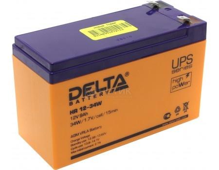 Аккумулятор для ИБП Delta HR 12-34W 12V / 9Ah (9 000mAh), арт: 54471 - Delta