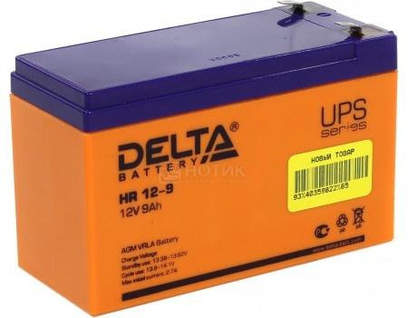 Аккумулятор для ИБП Delta HR 12-9 12V / 9Ah (9 000mAh), арт: 54472 - Delta