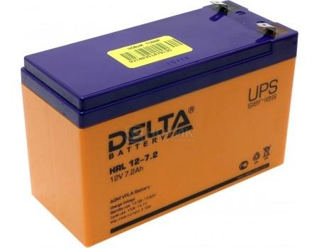 Фотография товара аккумулятор для ИБП Delta HRL 12-7.2 12V / 7.2Ah (7 200mAh) (54473)