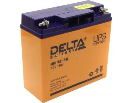 Аккумулятор для ИБП Delta HR 12-18 12V / 18Ah (18 000mAh), арт: 54477 - Delta