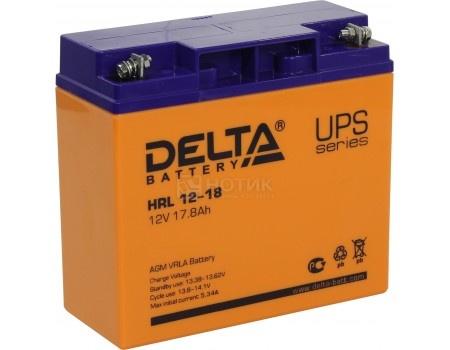 Аккумулятор для ИБП Delta HRL 12-18 12V / 18Ah (18 000mAh), арт: 54479 - Delta