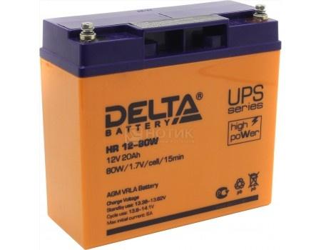 Аккумулятор для ИБП Delta HR 12-80W 12V / 20Ah (20 000mAh), арт: 54480 - Delta