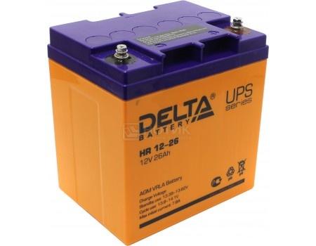 Аккумулятор для ИБП Delta HR 12-26 12V / 26Ah (26 000mAh), арт: 54481 - Delta
