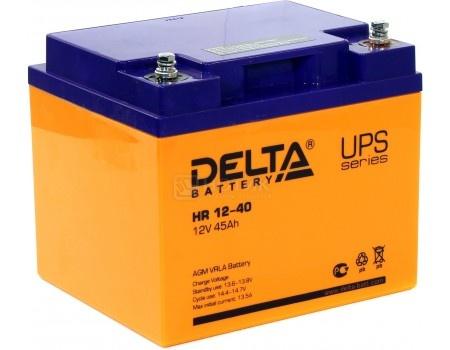 Фотография товара аккумулятор для ИБП Delta HR 12-40 12V / 40Ah (40 000mAh) (54482)