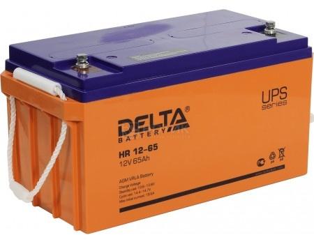 Фотография товара аккумулятор для ИБП Delta HR 12-65 12V / 65Ah (65 000mAh) (54483)
