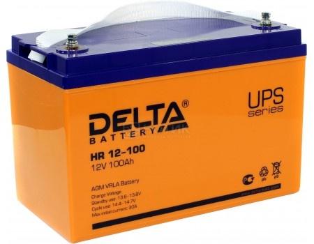 Аккумулятор для ИБП Delta HR 12-100 12V / 100Ah (100 000mAh), арт: 54484 - Delta