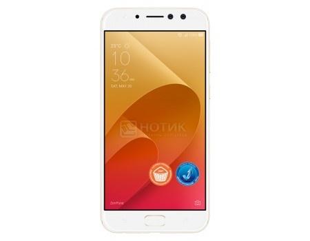 "Фотография товара смартфон ASUS Zenfone 4 Selfie Pro ZD552KL-5G065RU Sunlight Gold (Android 7.0 (Nougat)/MSM8953 2000MHz/5.50"" 1920x1080/4096Mb/64Gb/4G LTE ) [90AZ01M4-M01010] (54503)"