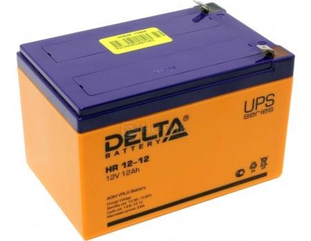 Аккумулятор для ИБП Delta HR 12-12 12V / 12Ah (12 000mAh), арт: 54504 - Delta