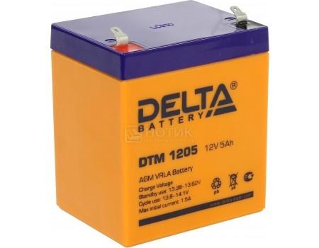 Фотография товара аккумулятор для ИБП Delta DTM 1205, 12V / 5Ah (5 000mAh) (54510)