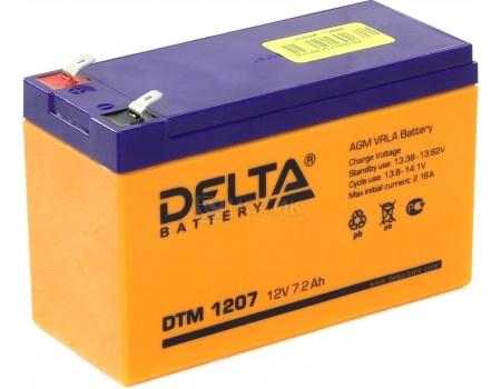Фотография товара аккумулятор для ИБП Delta DTM 1207, 12V / 7Ah (7 000mAh) (54511)