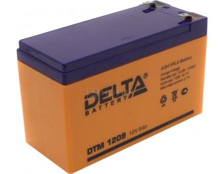 Фотография товара аккумулятор для ИБП Delta DTM 1209, 12V / 9Ah (9 000mAh) (54512)