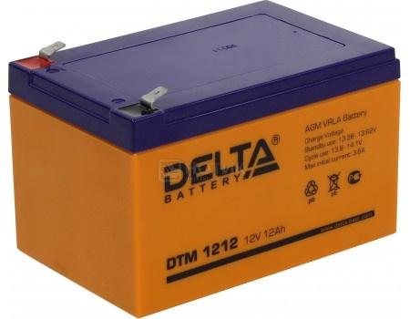 Аккумулятор для ИБП Delta DTM 1212, 12V / 12Ah (12 000mAh), арт: 54513 - Delta