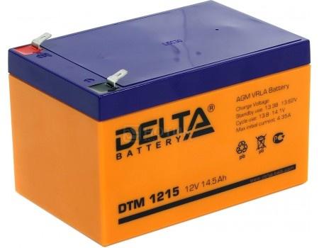Фотография товара аккумулятор для ИБП Delta DTM 1215, 12V / 15Ah (15 000mAh) (54514)
