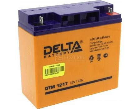 Аккумулятор для ИБП Delta DTM 1217, 12V / 17Ah (17 000mAh), арт: 54515 - Delta