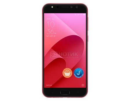 Смартфон ASUS Zenfone 4 Selfie Pro ZD552KL-5C066RU Rouge Red (Android 7.0 (Nougat)/MSM8953 2000MHz/5.5