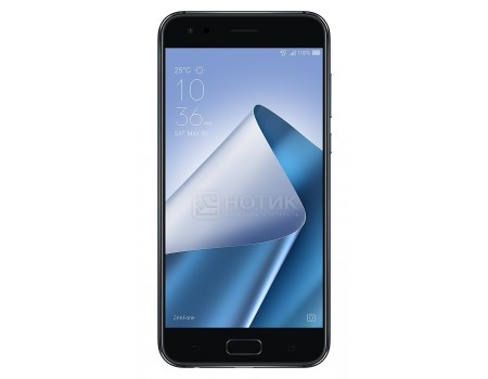 Смартфон ASUS Zenfone 4 ZE554KL-1A085RU Midnight Black (Android 7.0 (Nougat)/MSM8956 Plus 2200MHz/5.5
