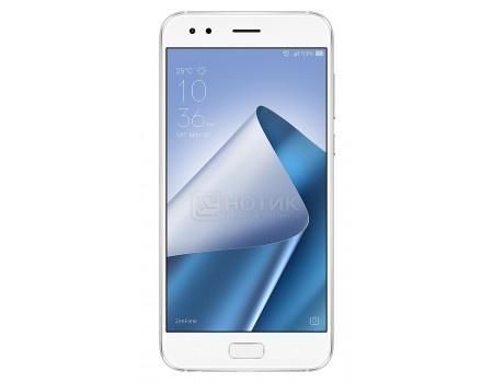 Смартфон ASUS Zenfone 4 ZE554KL-6B086RU Moonlight White (Android 7.0 (Nougat)/MSM8956 Plus 2200MHz/5.5
