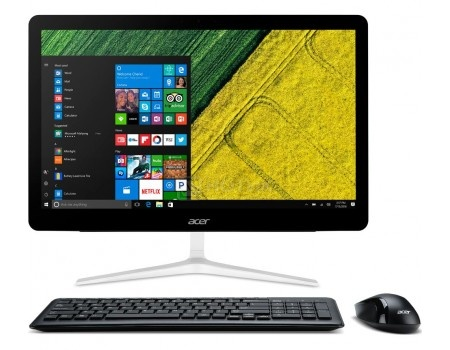 Моноблок Acer Aspire Z24-880 (23.8 TN (LED)/ Core i3 7100T 3400MHz/ 4096Mb/ HDD 1000Gb/ NVIDIA GeForce GT 940MX 2048Mb) MS Windows 10 Home (64-bit) [DQ.B8TER.001]