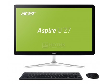 Моноблок Acer Aspire U27-880 (27.0 TN (LED)/ Core i7 7500U 2700MHz/ 8192Mb/ HDD 2000Gb/ Intel HD Graphics 620 64Mb) MS Windows 10 Home (64-bit) [DQ.B8RER.001]
