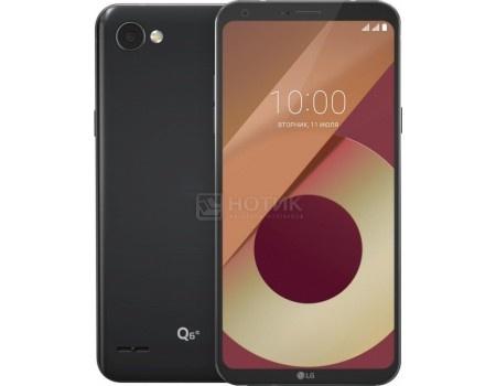 "Фотография товара смартфон LG Q6a M700 Black (Android 7.1 (Nougat)/MSM8940 1400MHz/5.50"" 2160x1080/2048Mb/16Gb/4G LTE ) [LGM700.ACISBK] (54595)"