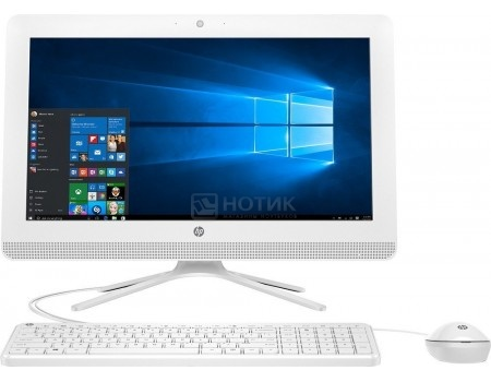 Моноблок HP 20-c005ur (19.5 TN (LED)/ Core i3 6100U 2300MHz/ 4096Mb/ HDD 1000Gb/ Intel HD Graphics 520 64Mb) MS Windows 10 Home (64-bit) [1EF32EA]