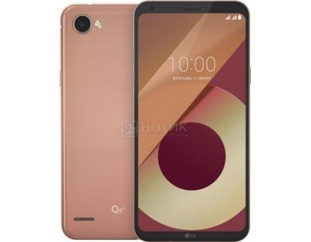 """Купить смартфон LG Q6a M700 Black Gold (Android 7.1 (Nougat)/MSM8940 1400MHz/5.5"""" 2160x1080/2048Mb/16Gb/4G LTE ) [LGM700.ACISKG] (54597) в Москве, в Спб и в России"""