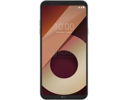 "Фотография товара смартфон LG Q6a M700 Platinum (Android 7.1 (Nougat)/MSM8940 1400MHz/5.50"" 2160x1080/2048Mb/16Gb/4G LTE ) [LGM700.ACISPL] (54598)"