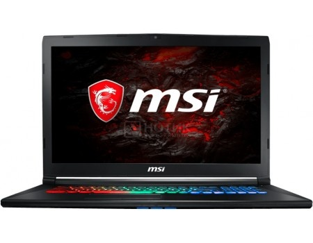 Ноутбук MSI GP72MVR 7RFX-678RU Leopard Pro (17.3 TN (LED)/ Core i7 7700HQ 2800MHz/ 16384Mb/ HDD+SSD 1000Gb/ NVIDIA GeForce® GTX 1060 3072Mb) MS Windows 10 Home (64-bit) [9S7-179BC3-678]