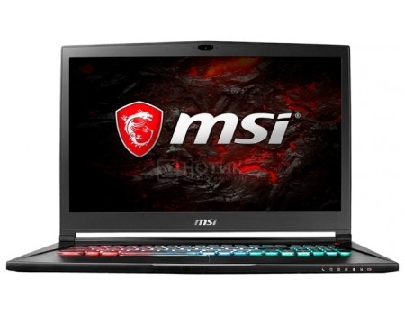 Ноутбук MSI GS73VR 7RG-070RU Stealth Pro (17.3 TN (LED)/ Core i7 7700HQ 2800MHz/ 16384Mb/ HDD+SSD 2000Gb/ NVIDIA GeForce® GTX 1070 в дизайне MAX-Q 8192Mb) MS Windows 10 Home (64-bit) [9S7-17B312-070]