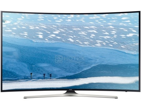 Телевизор Samsung 65 UE65KU6300U UHD, Smart TV, CMR 1400, Изогнутый экран, Черный