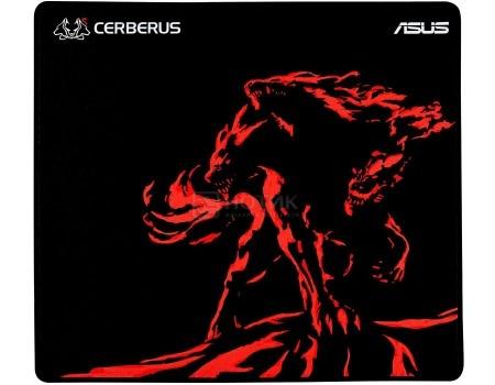 Фотография товара коврик для мыши ASUS Cerberus Mat Plus, Черный/Красный 90YH01C2-BDUA00 (54673)