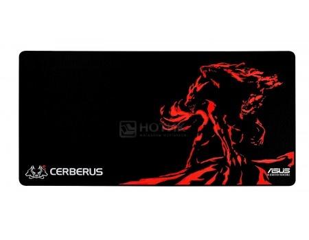 Коврик для мыши ASUS Cerberus Mat XXL, Черный/Красный 90YH01C1-BDUA00