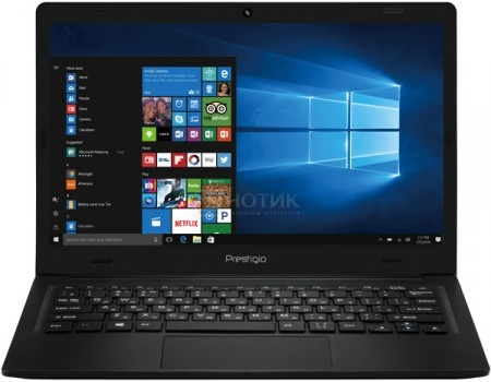 Ноутбук Prestigio SmartBook 116C (11.6 IPS (LED)/ Atom Z8350 1440MHz/ 2048Mb/ SSD / Intel HD Graphics 400 64Mb) MS Windows 10 Home (64-bit) [PSB116C01BFH_BK_CIS]