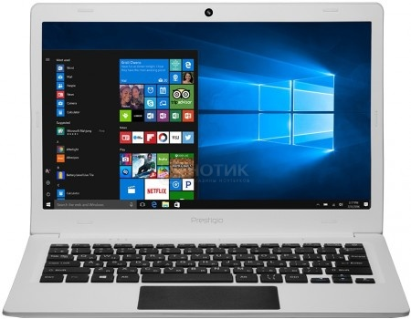 Ноутбук Prestigio SmartBook 116C (11.6 IPS (LED)/ Atom Z8350 1440MHz/ 2048Mb/ SSD / Intel HD Graphics 400 64Mb) MS Windows 10 Home (64-bit) [PSB116C01BFH_WH_CIS]