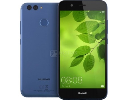 Смартфон Huawei Nova 2 64Gb Blue (Android 7.0 (Nougat)/Kirin 659 2360MHz/5.0