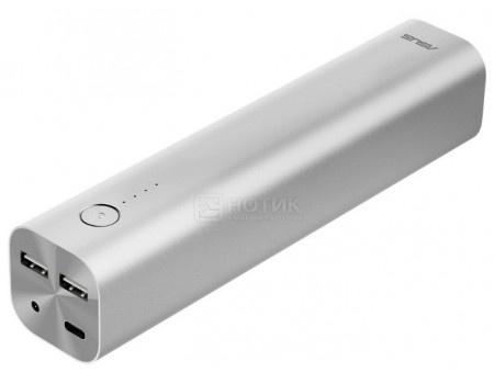 Внешний аккумулятор Asus ZenPower Max 26800 мАч, DC in 19V/1.75A , 2xUSB 5V/2.4А ,1xUSB Type-C 5V/3A Серебристый 90AC00U0-BBT010