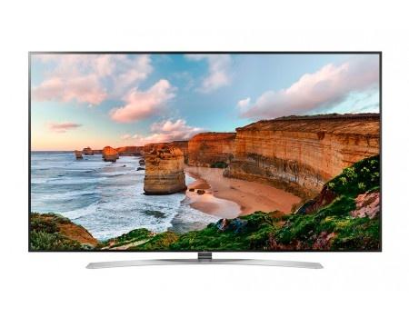 Фотография товара телевизор LG 49 49SJ810V IPS, UHD, Smart TV (webOS 3.5), PMI 2800, Серебристый (54762)