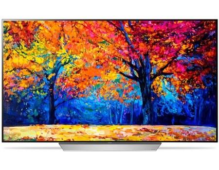 Телевизор LG 55 OLED55C7V OLED, UHD, Smart TV (webOS 3.5), Серебристый/Белый