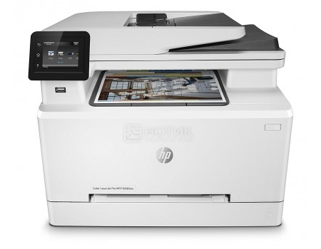 МФУ лазерное цветное HP Color LaserJet Pro M280nw, A4, ADF, 21/21 стр/мин, 256Мб, USB, LAN, Wi-Fi Белый T6B80A