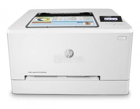 Принтер лазерный цветной HP LaserJet Pro M254nw, A4, 21/21 стр/мин, 128Мб, USB, LAN, Wi-Fi Белый T6B59A